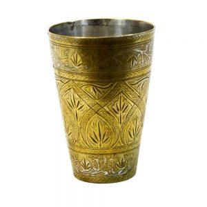 Antikcart Antique Artwork Brass Nazhi Glass up