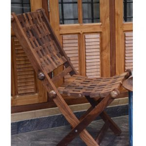Antikcart Cozy Sheesham wood Foldable Vintage Chairs