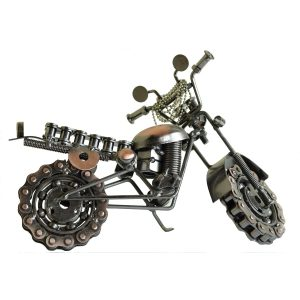 Bike model Antikcart Handicraft-Retro-Metal-Motor-Bike-Model-Table-Curios main pic