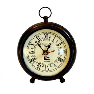 Antikcart Jefferson and Smith Classic Desk Clock