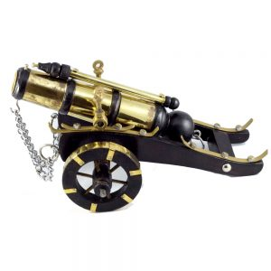 Antikcart Passion Vintage Heavy Brass Cannon Miniature