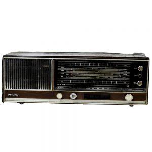 Antique Philips Transistor Radio Antikcart