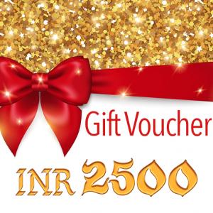 Antikcart gift voucher INR 2500
