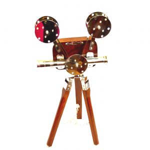 Antikcart Classic Vintage Tripod Projector Model Miniature