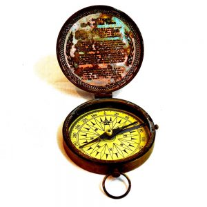 Nautical Compass - Antikcart Special Antique Stanley London Brass Compass