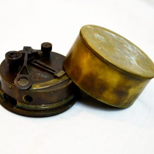 Antikcart Vintage Antique Brass Sextant Navigator Tool