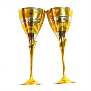 Antikcart Vintage Globet Wine Glass Set