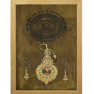 Antikcart Ethnic Ornament Painting -Stamp Paper Collection by Antikcart