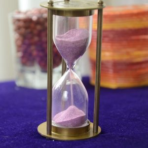 Antique Metal Brass Sand Hour glass Curios Collectibles Antikcart-Passion -3 minute sand timer 1