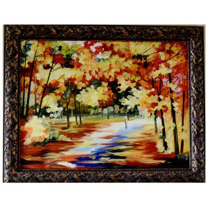 Bright Ways Very Beautiful Painting - Knife Palette Canvas Oil Painting