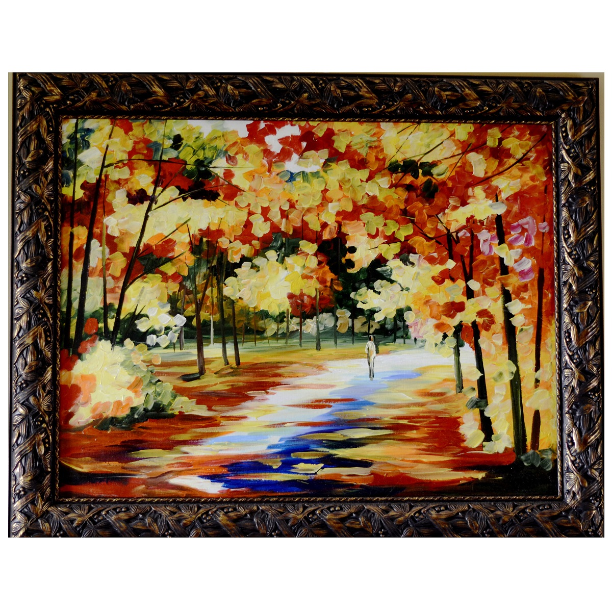 Bright ways beautiful painting knife palette canvas for Beautiful canvas painting