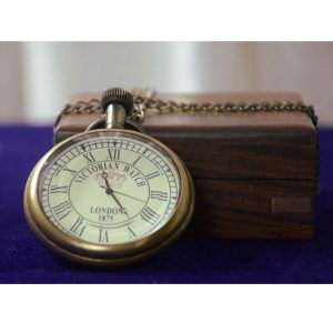 Mechanical Antique Pocket watch sheesham box Collectible by Antikcart 3