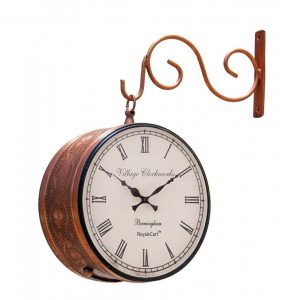 Passion-Retro-Vintage-Station-Clock-Copper-Finish-Antikcart