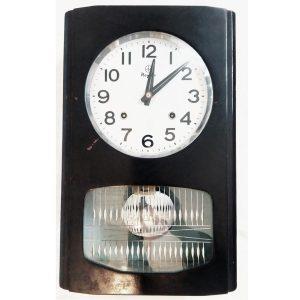 Antikcart Pendulum Wall Clock Nayak Classic Wall Clock with Pendulum