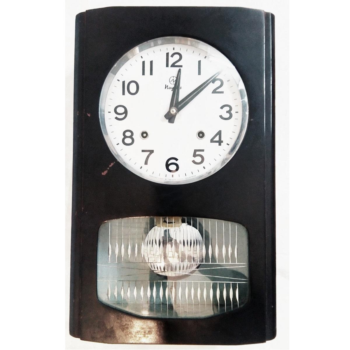 Antique Nayak Classic Pendulum Wall Clock Antikcart
