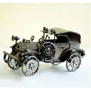 Retro Vintage Handicraft Metal Car Model - curios by Antikcart main pic