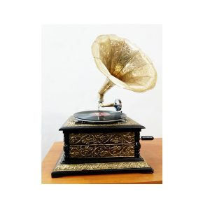 Antikcart Gramophone - Retro Vintage Handicraft Metal Car Model - curios by Antikcart