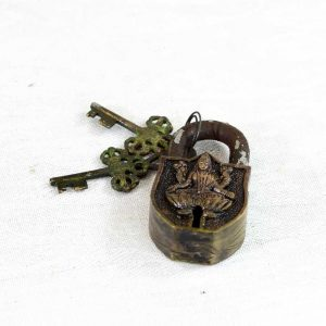 Antique Brass Lock Antikcart Antique Lakshmi Matha Brass Lock Collectible