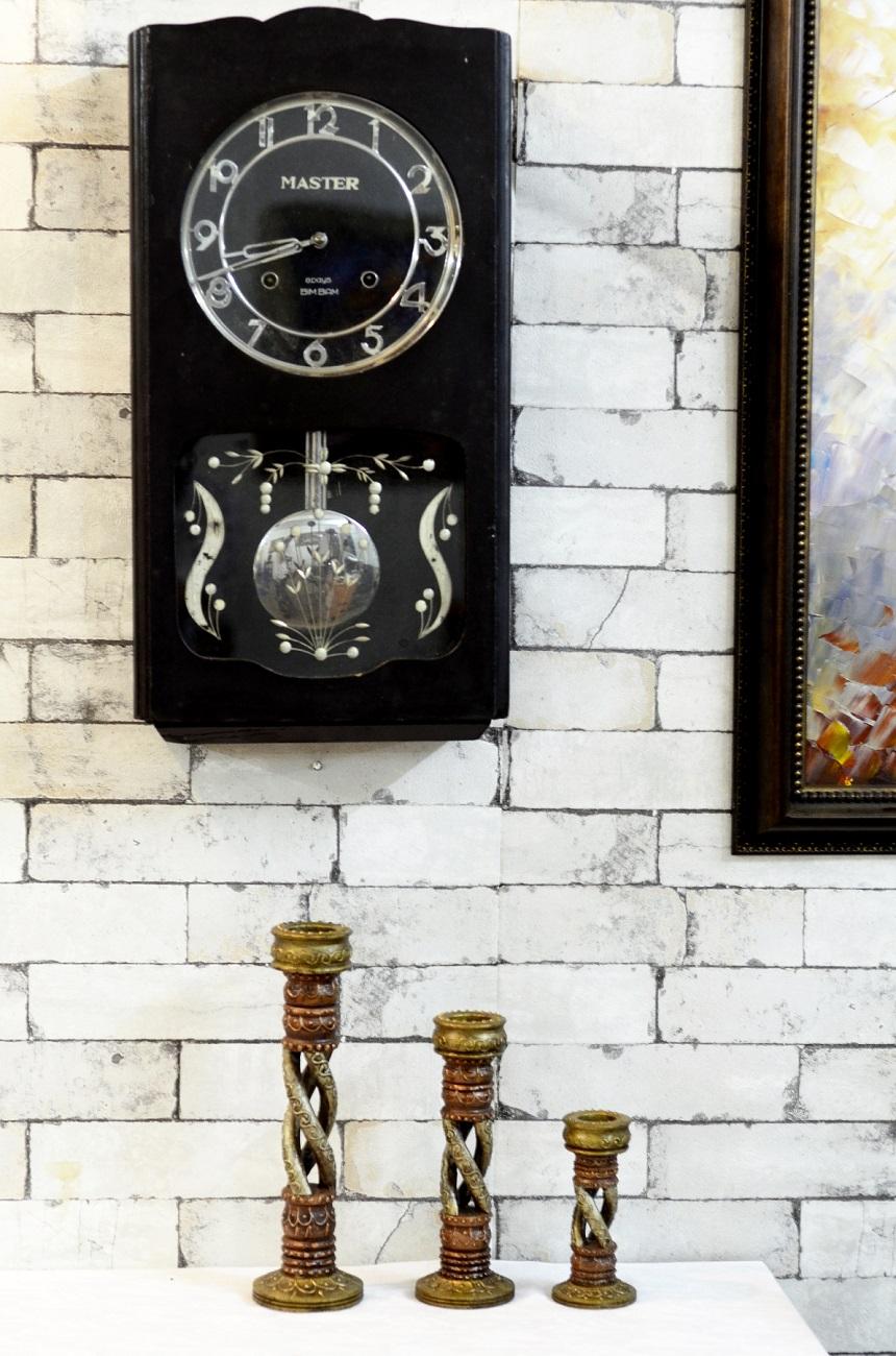 Antique Master Bim Bam Pendulum Wall Clock Antikcart
