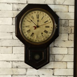 Antikcart Classic Vintage Ansonia Analog Calendar Clock