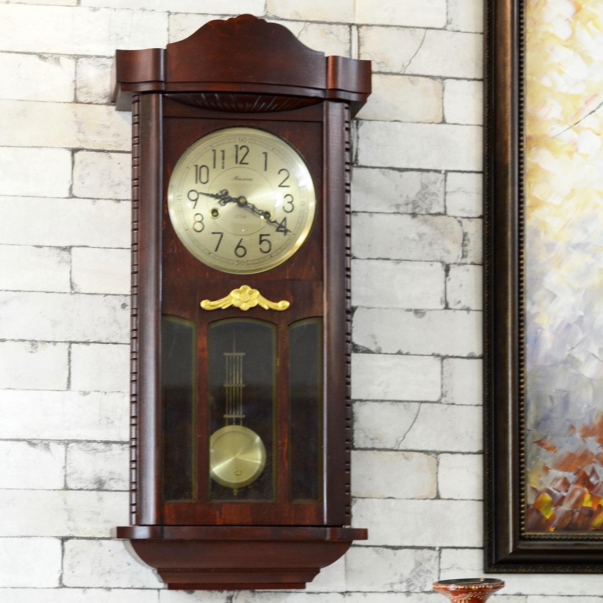 Classic Vintage Style Maxim Pendulum Wall Clock Antikcart