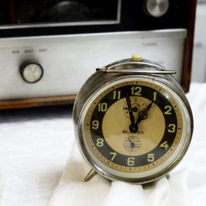 Antikcart Vintage Blesso Time Piece Table Clock