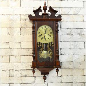 Antikcart Vintage Style 31 days Carving Maxim Pendulum Wall Clock main