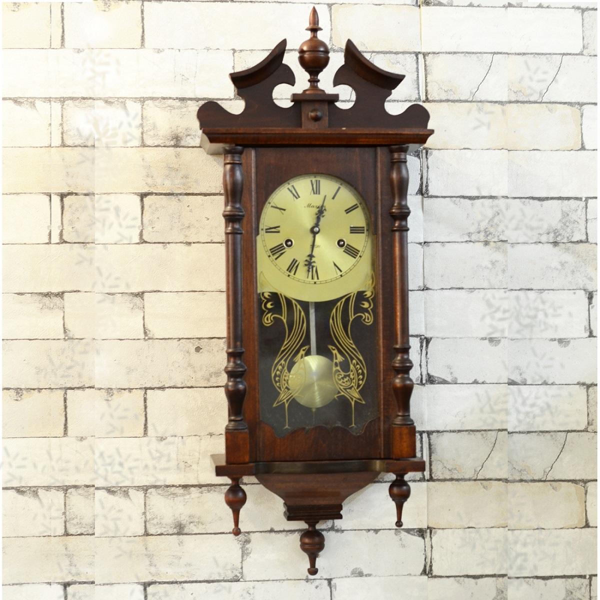 Vintage 31 Days Winding Maxim Pendulum Wall Clock Antikcart