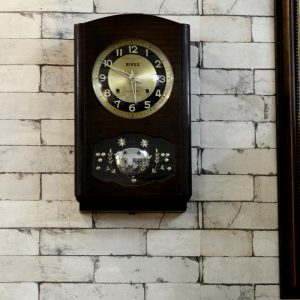 Antikcart Amazing Antique Working Rivex Bim Bam Wall Clock Collectible
