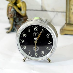 Antikcart Antique Hes Table Time Piece Clock Decor Collectible