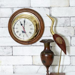 Antikcart Antique Marine Ship Captain Cabin clock Wall Decor Collectible on wall