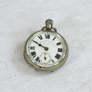 Small Pocket Watch - Antikcart Antique Small Western End Pocket Watch Roman Letter Dial Collectible main