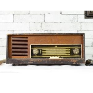 Antikcart Antique Vintage HMV Valve Radio Decor Collectible