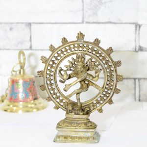 Antikcart Divine And Marvelous Antique Brass Natraj Statue Antique Statue main pic