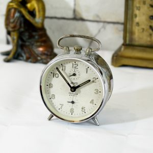 Antikcart Jayco Zeiler Antique Time Piece Table Clock Decor Collectible