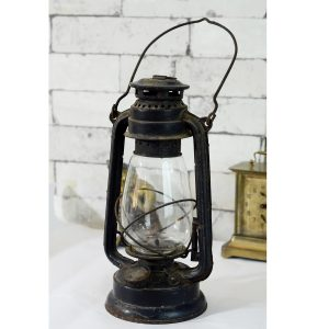 Antikcart Old Antique Hurricane Kerosene Light Lamp Decor Collectible