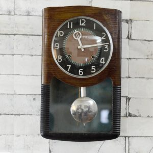 Antikcart Original Antique Working Scientific Bim Bam Clock Wall Decor Collectible Antique Clocks