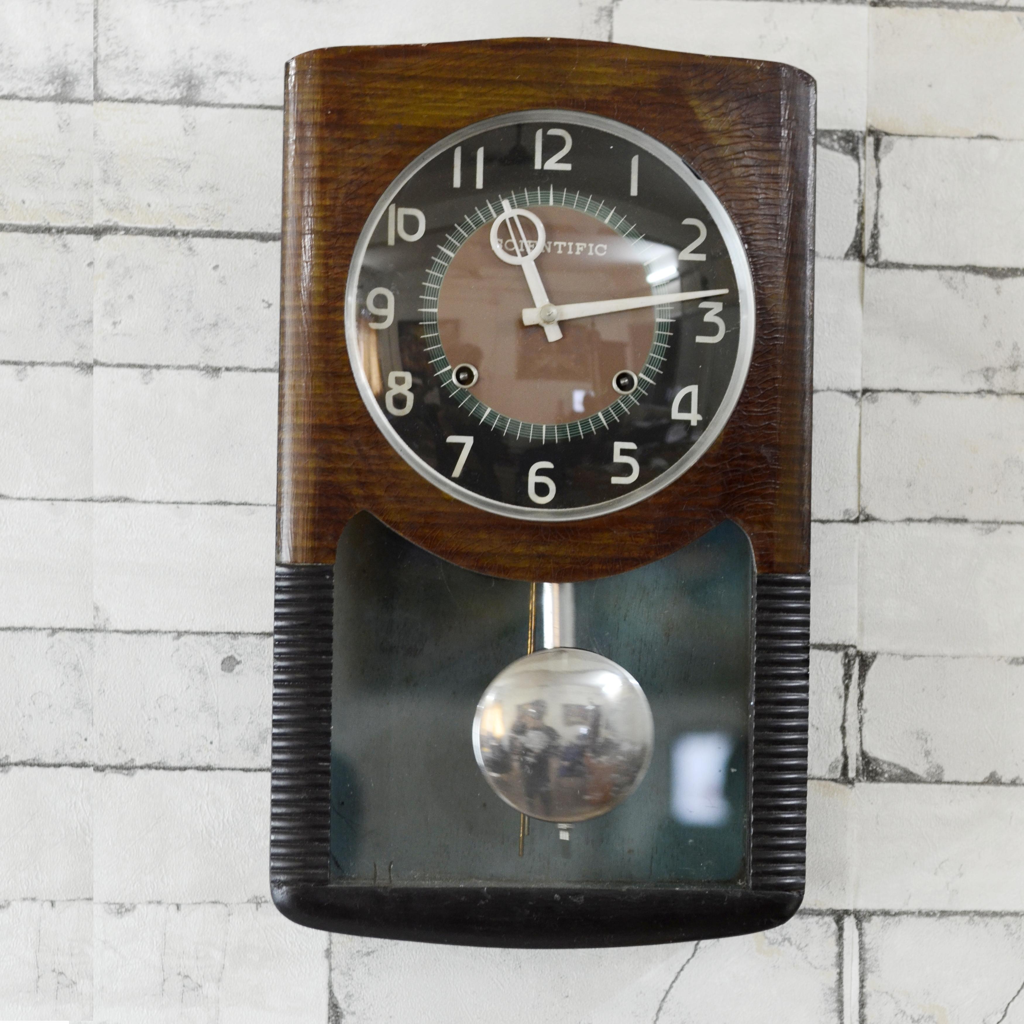 Original Antique Working Scientific Bim Bam Clock Antikcart