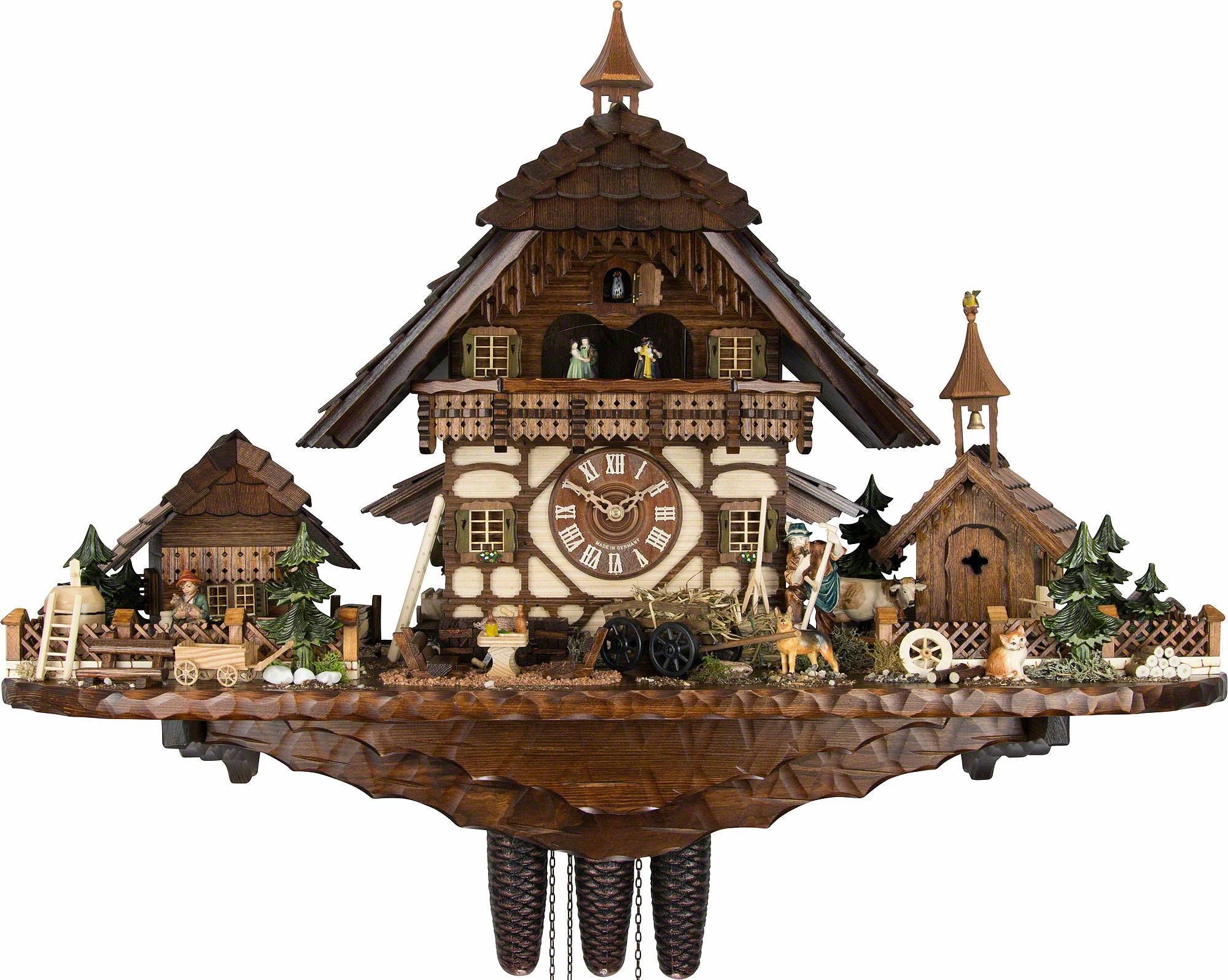 Cuckoo clocks history solidwood interiors decor handicrafts cuckoo clocks and its history amipublicfo Images