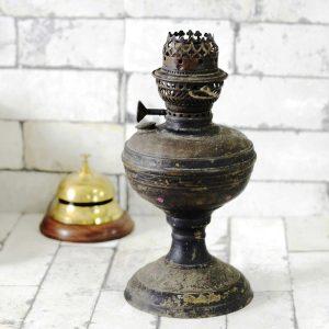 Antikcart Antique 1 foot Metal Kerosene Lamp DECOR COLLECTIBLE