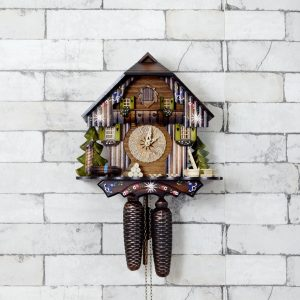 Antikcart Antique 8 Days Bim Bam Cuckoo Clock MAIN
