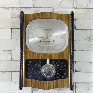 Antikcart Antique Master Deluxe Bim Bam Wall Clock