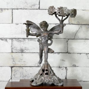 Antikcart Antique Metal brass Cherub statue Room Decor Antique COLLECTIBLE