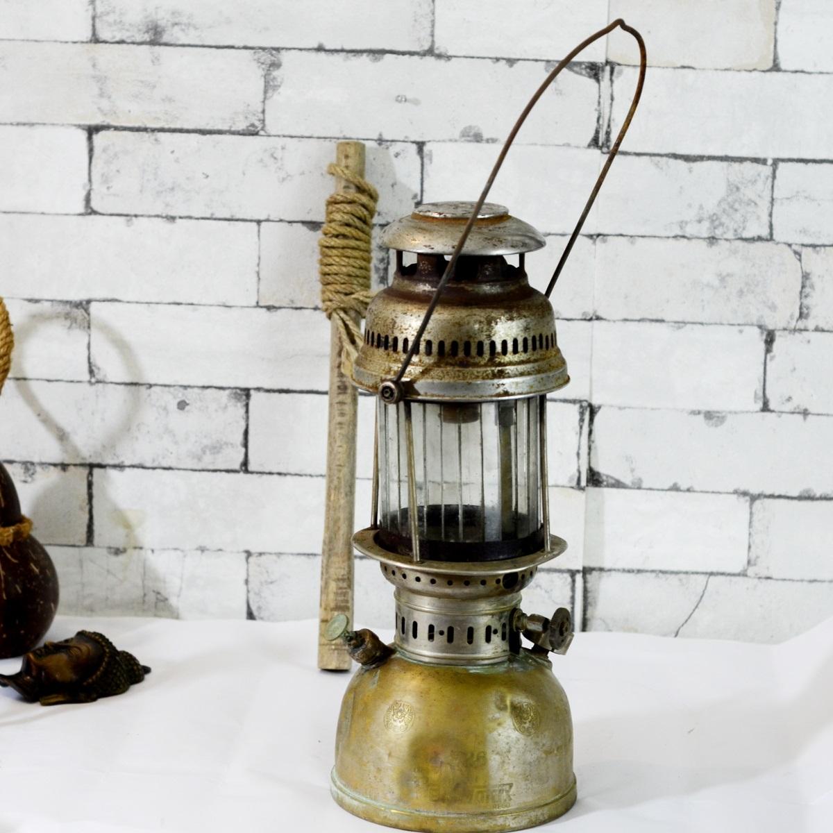antikcart antique original petromax hurricane lamp antique lamp petromax - Antique Lamp