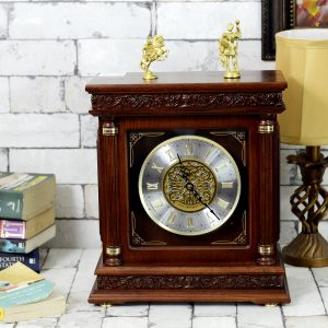 Antikcart Antique Roman tower type Seiko Mantel Clock