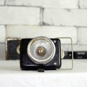 Antikcart Antique Working Small Bicycle Lamp Collectible Decor image