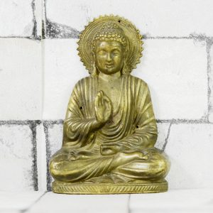 Antikcart Brass Budha Wall Hanging Decor