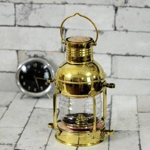 Antikcart Brass Classic Vintage Marine Lantern view new LAMP