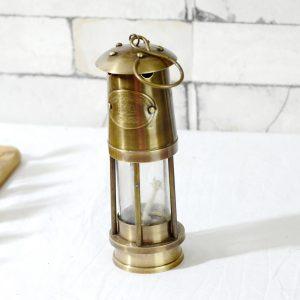 Antikcart Brass Vintage Hanging Mine Lantern pic antikcart lamps
