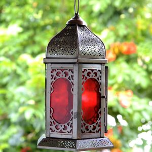 Antikcart Carved Moroccan Style Room Hanging Lantern Decor OUTDOOR LOOK main v view